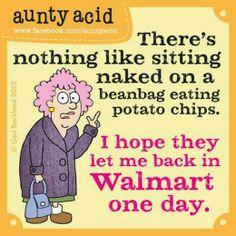 Auntie Acid Funnies | Chuck's Fun Page 2: Nine Aunty Acid Cartoons