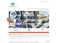 Die Automaten-Meyer AG ist seit 1968 in der Diagnose, Reparatur und Wartung von Getrieben tätig. Der neue, viersprachige Webauftritt erscheint zeitlos.  #webagentur #webdesign #bern Bern, Planer, Shopping, Vending Machines, Antique Cars