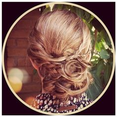 Romantic 'do by Brides By Brittany!  www.BridesByBrittany.com Brittany, Wedding Hairstyles, Brides, Hair Makeup, Romantic, Art, Wedding Hair Half, Hair Styles, The Bride