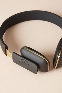 aHead Wireless Headphones by Kreafunk in Black Size: All, Tech Essentials at Anthropologie Bluetooth Headphones, Over Ear Headphones, Wireless Home Security Systems, High Tech Gadgets, Phone Accessories, Medical Technology, Energy Technology, Technology Gadgets, Futuristic Technology