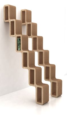 Quetza is a bookshelf that roughly resembles the Aztec god Quetzalcoatl who was shaped after a feathered snake.The Quetza bookshelf is currently manufactured by Pirwi.