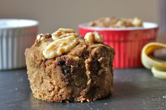 Mangia | Banana Walnut Bread for 2 (coconut flour based)