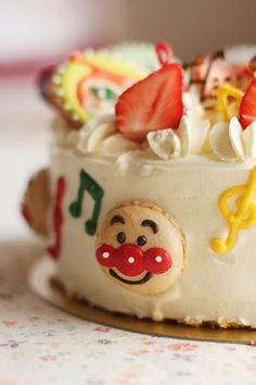 Anpanman cake アンパンマンケーキ