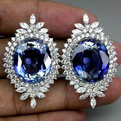 SPLENDID-AAA-BLUE-PURPLE-TANZANITE-MAIN-STONE-62-80-CT-SAPP-925-SILVER-EARRINGS