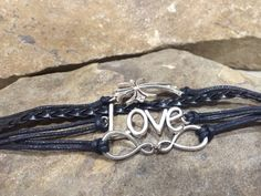 Love Leather Diffuser Bracelet by PureEssenceJewelry on Etsy, $15.00