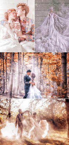 Fairy Tales Come True! 25 Magical Fantasy Bridal Portraits You'll Love