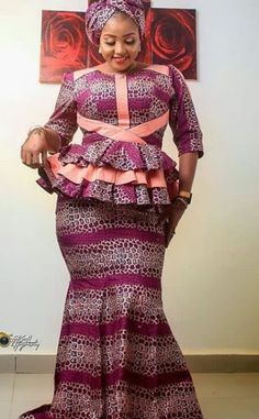 Latest Ankara Skirt And Blouse Styles collection 2019:25 collection Styles To Try Out  | Correct Kid