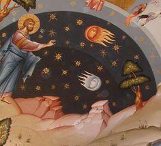 Η Δημιουργια του κοσμου. ( Creation of the sun, moon and stars