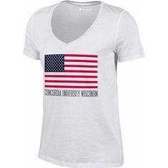 Champion Concordia University Wisconsin Women's V-Neck T-Shirt $20.00
