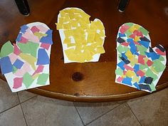 Mittens and other activities to go with The Mitten book by Jan Brett