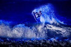Splash of colour. #surf #redbull #blue