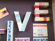 Washi Tape + Suportes de Cartão <3 Efco <3