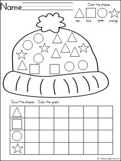 Free winter math worksheet for number recognition practice. Count the snowballs in each snowman, then cut and paste the number that matches. Find more winter math worksheets for Kindergarten and preschool by clicking on my shop. Graphing Worksheets, Kindergarten Worksheets, Worksheets For Kids, Shapes Worksheets, Counting Worksheet, Matching Worksheets, Preschool Kindergarten, Printable Worksheets, Free Printable