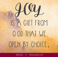 Joy is a Gift // Fulfilled Book Giveaway