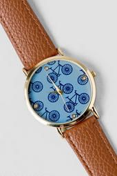 Knoll Bicycle Watch. So quirky and cutesy :)