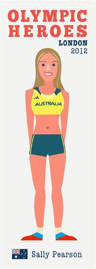 Australian Sally Pearson - http://printablepaperproducts.com/printable-crafts/olympic-games-london-2012