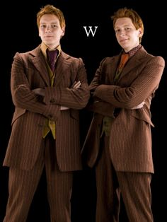 Weasley Twins- I'm going to come over there ❤️❤️