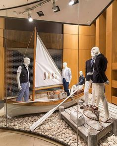 """""""time and tide waits for no one, Paul."""", pinned by Ton van der Veer Visual Merchandising Displays, Visual Display, Display Design, Store Design, Display Ideas, Shop Window Displays, Store Displays, Display Window, Counter Display"""