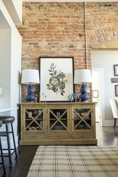 Event galleries by Sarah Heppell Photography Brick Interior, Interior Design, Blue Dishes, Brick And Stone, Portfolio Design, Entryway Tables, New Homes, Cabinet, Interiors