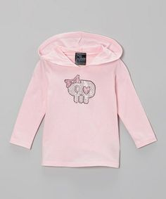 Take a look at this Light Pink Cutie Skull Hoodie - Infant, Toddler & Girls by Skull Factory on #zulily today!