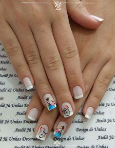 Cute Nail Art Designs, Gel Nail Designs, Beads And Wire, Nail Arts, Nails Inspiration, Summer Nails, Cute Nails, Nail Colors, Gel Nails