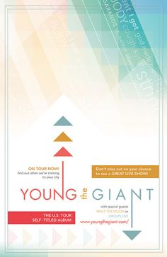 Young the Giant - Music Poster