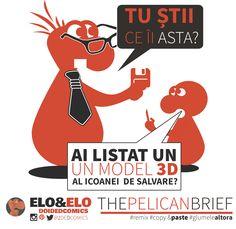 elo&elo prezinta: The Pelican Brief (o gluma prea buna ca sa nu fie #remix-ata) #doidedcomics #eloandelo  #comics