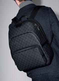 Gucci Pre-Fall 2014: GG Supreme Canvas Backpack