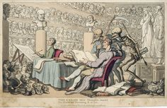Time and DeathRowlandson, Thomas (1756-1827), Time