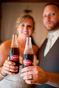 Cheerwine wedding photo Hot Sauce Bottles, Special Day, Wedding Photos, Wedding Planning, Weddings, Future, Drinks, Food, Marriage Pictures