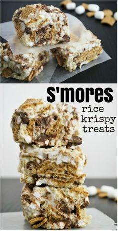 S'mores Rice Krispie Treats