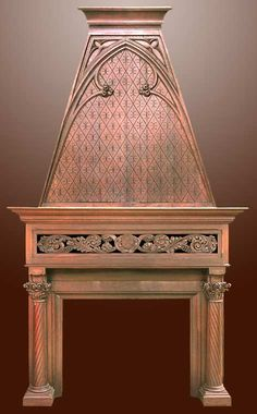 Fire Place Mantle - Designs From The Historical Record- HRFPM22