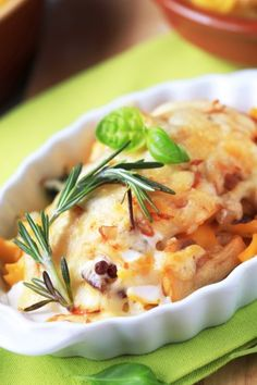 Recette de Cassolettes de saumon aux champignons