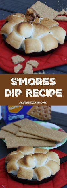 In the summer months, what is better than Smore's. Therefore, I am sharing a summertime fun recipe with Smore's Dip here for all to enjoy in the summer. Single Serve Desserts, Desserts For A Crowd, Great Desserts, Party Desserts, Delicious Desserts, Yummy Food, Tasty, Fudge Recipes, Dip Recipes