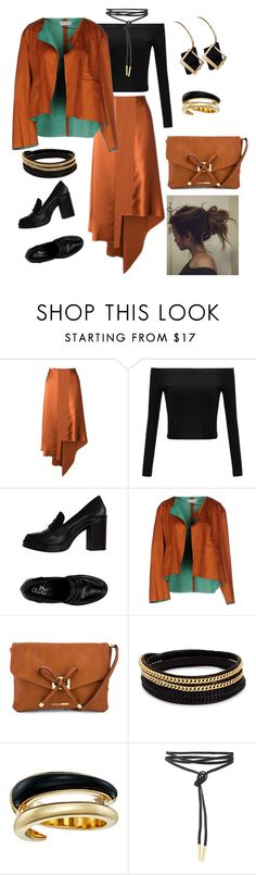 """Fall Date"" by naviaux ❤ liked on Polyvore featuring Elizabeth and James, Weili Zheng, Tony Bianco, Vita Fede and Michael Kors"