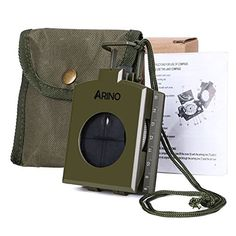 ARINO Military Marching Navigation Compass Slope Meter Professional MultiFunctional for Camping Hiking Adventure Travel >>> Continue to the product at the image link. This is an Amazon Affiliate links.