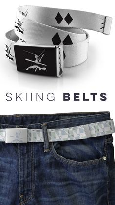 Styling Skiing belts for when you're off the slopes