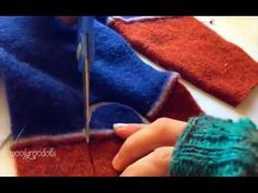 Sweater Slippers DIY Super Easy Video Instructions
