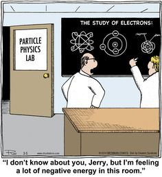 The Study of Electrons: I'm feeling a lot of negative energy. Chuckle Bros on Alphacomedy.com