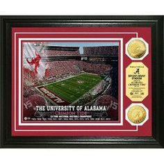 University of Alabama Stadium Gold Coin Photo Mint
