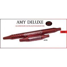 Amy Deluxe Aluminium-Griffstück und Endstück 1.0 pink von Amy Shishas, s209pink
