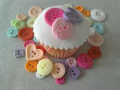 40 #edible icing/sugar button #cupcake #decoration cake toppers,  View more on the LINK: http://www.zeppy.io/product/gb/2/262092448393/