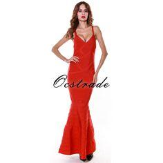 US $69.78 -- Elegant Long Bandage Dresses 2016 New Arrivals Mermaid Bandage Dress Rayon Long Red Dress Wholesale HL aliexpress.com