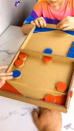 Home activity  <br> Paper Crafts For Kids, Easy Crafts For Kids, Projects For Kids, Diy For Kids, Fun Crafts, Diy And Crafts, Craft Projects, Creative Crafts, Crafts With Cardboard
