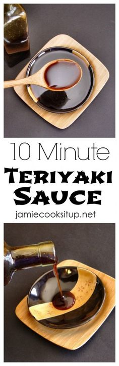 10 Minute Teriyaki Sauce Jamie Cooks It Up! This fabulous recipe is wonderful on chicken, beef, vegetables or rice.: