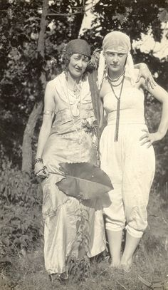 Marjorie Lemon and Hawley dressed for Halloween at Statesan 1926