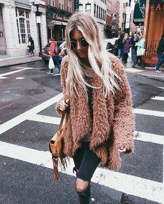 Cozy jacket.