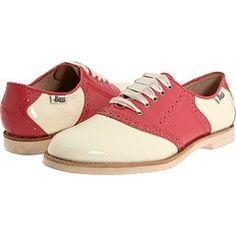 Pink Bass saddle shoes