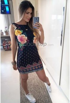 824-20180724_131704 Flower Dresses, Refashion, Cool Outfits, Dress Up, Pixi, Style Inspiration, Clothes For Women, Formal, Lady