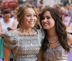 Miley Cyrus and Demi Lovato